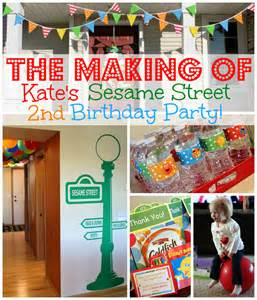 the making of kate s sesame street birthday party