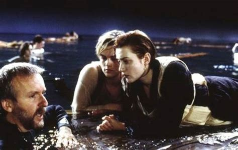 titanic film shooting titanic director tweaks the sky cosmic log