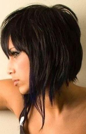 angled choppy bobs choppy bob brunette short hair women s hair short