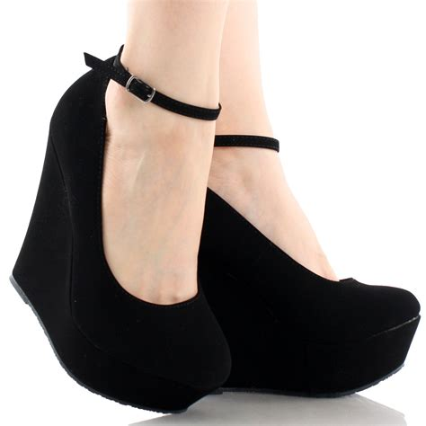 Of The Shoes Wedges by Black Wedges With Ankle Www Pixshark Images