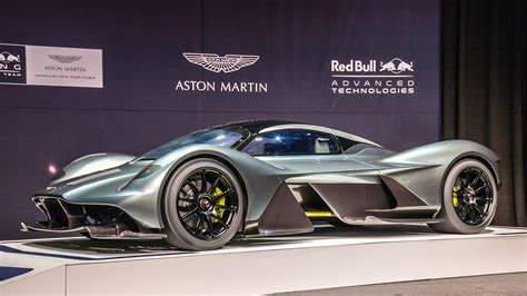 aston martin supercar the aston martin valkyrie is getting a mid engined baby