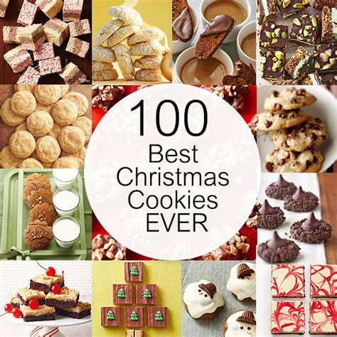 100 best christmas cookies ever