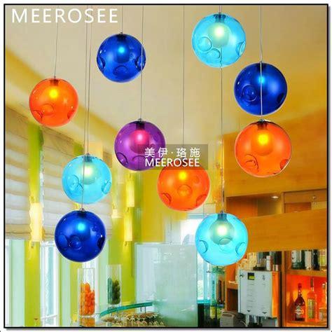 Le Buntes Glas by Nouveau Style Les Verre Lighting Luminaire Suspendu