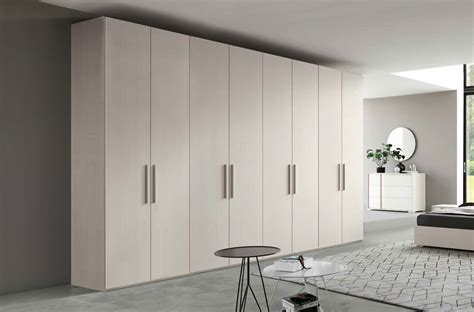 armadio 8 ante armadio moderno 8 ante battenti finitura larice bianco
