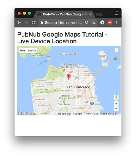 javascript tutorial map location javascript geolocation tracking with google