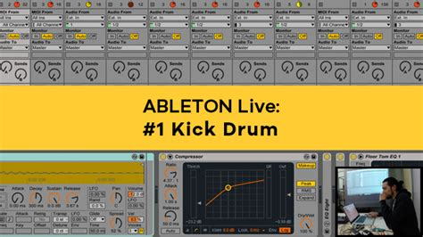 ableton tutorial kick drum ableton live tutorial ita nova system electronic music