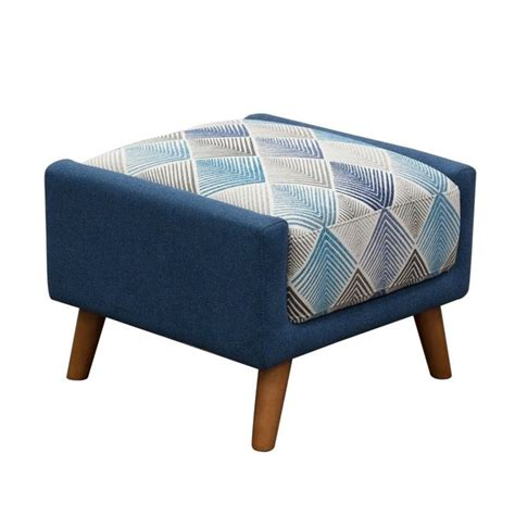 patterned ottomans diamond sofa magnetic patterned fabric square ottoman in