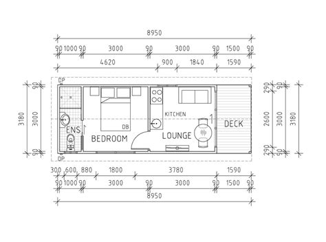 one bedroom granny flat floor plans granny flat diy kits flats house plans 30463