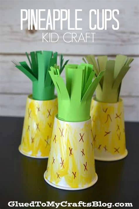 pineapple paper craft 17 best ideas about pineapple craft on luau