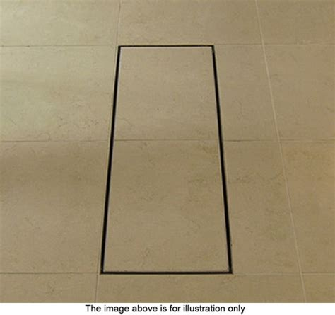 shower gully for room stainless steel wetroom tile gully with side outlet 150mm waterworld ww tg150 truerooms