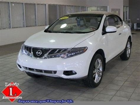 sell used 2011 nissan murano crosscabriolet convertible 2