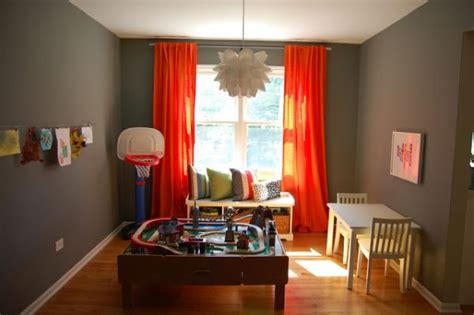 Curtains For Playroom 35 Colorful Playroom Design Ideas