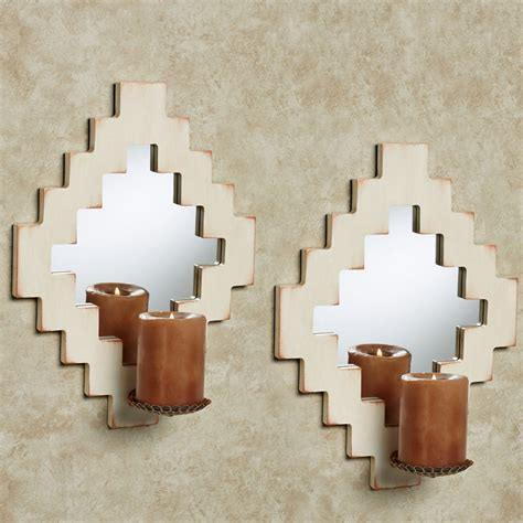Mirrored Wall Sconce Rockwell Mirrored Wall Sconce Pair