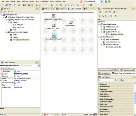 tutorial delphi datasnap erstellen eines servers mit datasnap interbase tutorial