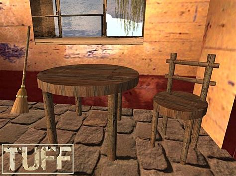 rustic kitchen table and chairs second marketplace tuff rustic kitchen table and