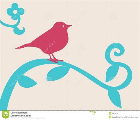 cambiare filiale uccello su una filiale illustrazione vettoriale immagine