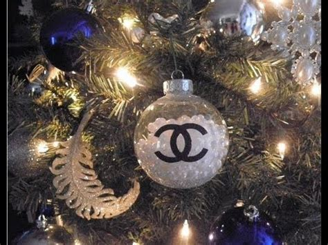 What Do You Decorate With Ornaments For Christmas - diy chanel pearls christmas ornament have a very couture holiday youtube