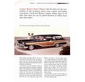 Car Brochures  1958 Mercury Brochure /