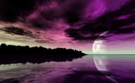 fondo pantalla bonita noche mar fondo escritorio fantasia noche mar