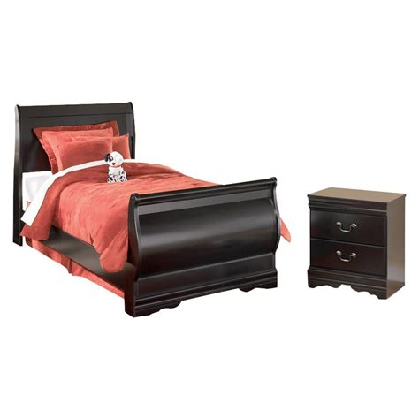 posts carpenter sleigh configurable bedroom set