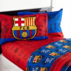 Soccer Bed Set Barcelona Fcb Soccer Bedding Sheet Set Walmart