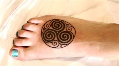 triple spiral tattoo designs 66 spiral tattoos