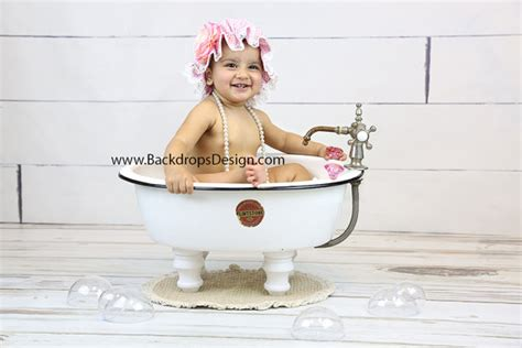Baby Bathtub Photo Prop by Baby Bath Bubbles Prop Set Photography Prop Newborn Toddlers