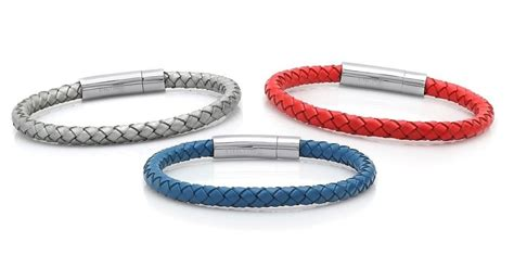 Trendy Woven Men's Leather Bracelet   4 Colors