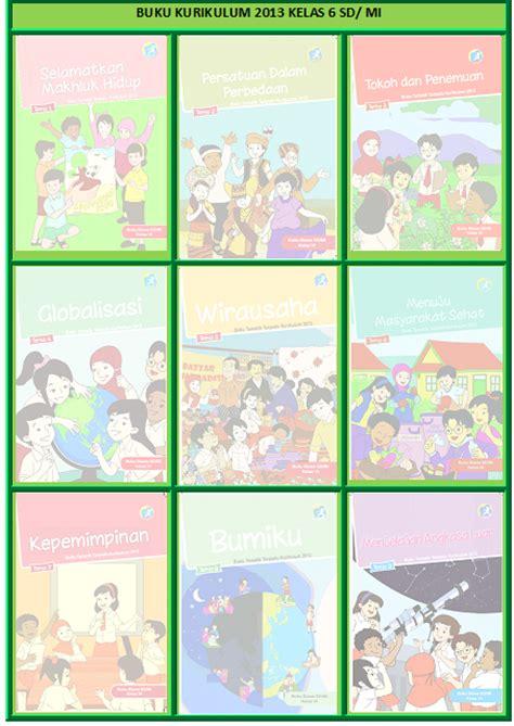 Buku Siswa Sd Mi Kelas 6 Tema 9 Menjelajah Angkasa Luar buku k13 sd