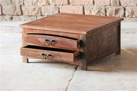 Upcycled Coffee Table Rustica Upcycled Square Coffee Table By Tree Furniture Notonthehighstreet