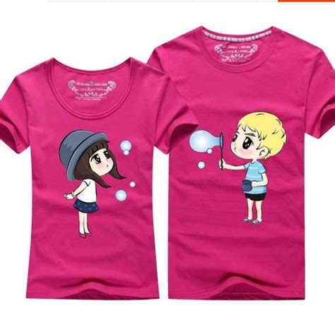 Matching T Shirts For Couples Aliexpress Buy Korean Matching Tshirt Casual