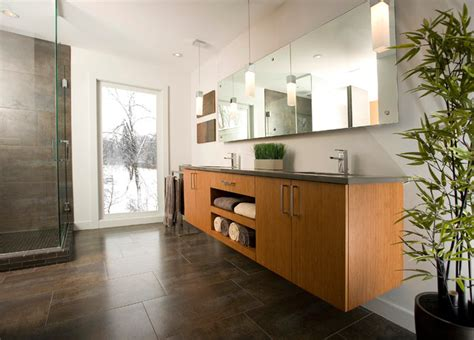 fantastic finishes on a contemporary denver duplex contemporary master bathrooms interior design home