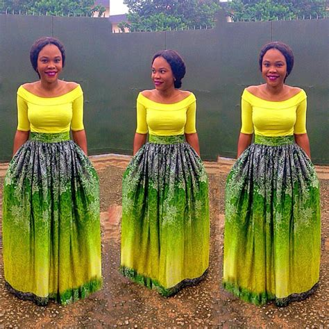 styles for nigeria long wevon style flair skirts ankara styles nigeria fashion african
