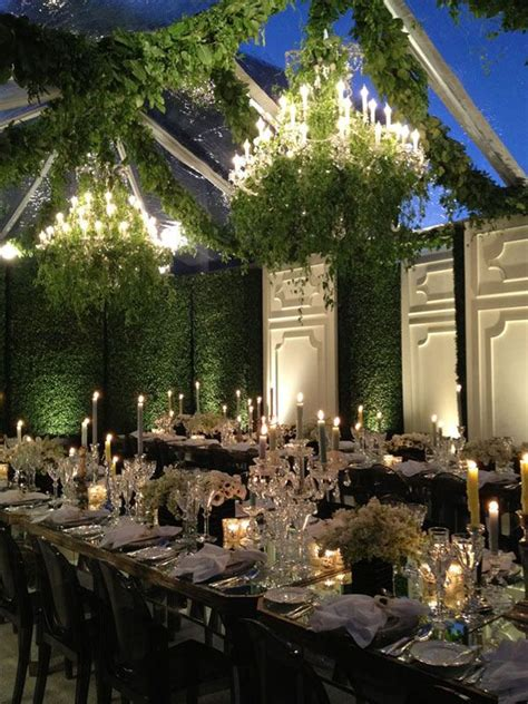 indoor garden wedding reception siudy net for an indoor garden wedding candelabras chandeliers heavy with greenery and walls of