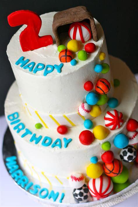 themed birthday cakes nj ball themed birthday cake goodiebox bakeshop hoboken nj