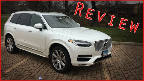 volvo xc  inscription review youtube