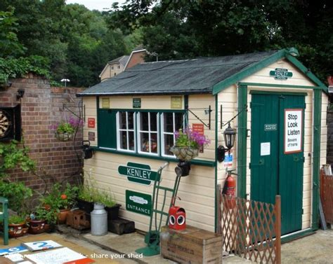 signal shed kenley signal box is an entrant for shed of the year 2012