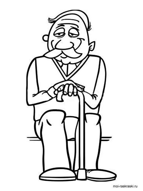 grandpa coloring pages free printable grandpa coloring pages