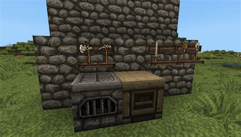 Tool Rack Minecraft by 1 3 2 1 2 5 Toolrack Rack Up Your Tools And Weapons