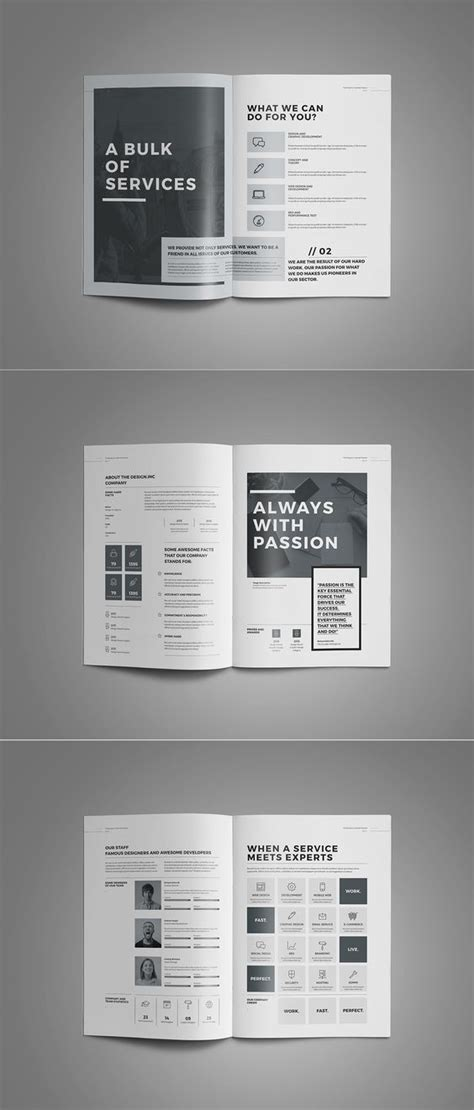 apple pages brochure templates behance creative and adobe on