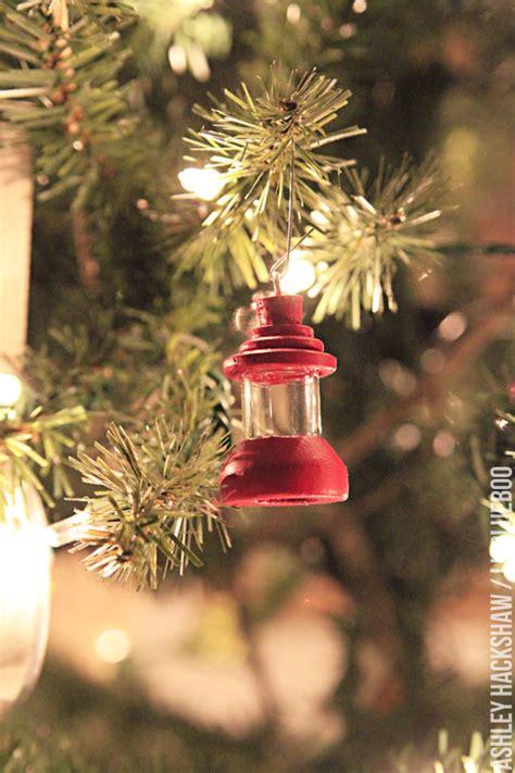 theme ornaments diy ornament vintage cing lantern