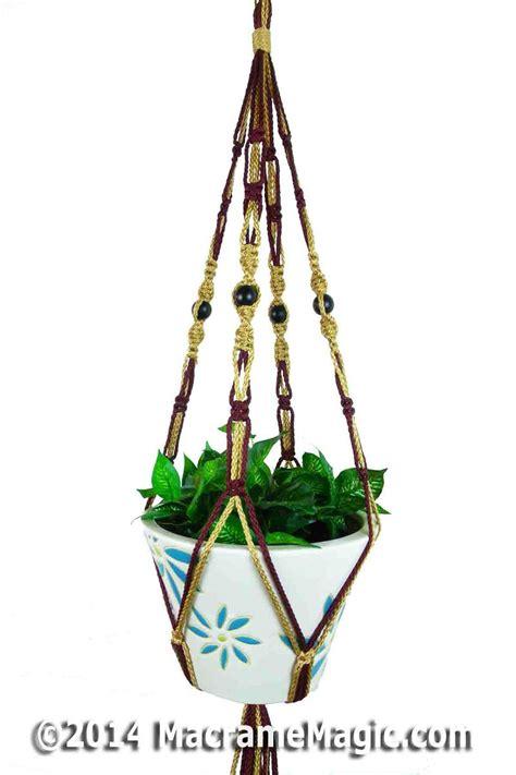 Macramé Plant Hanger - ananya plant hangers macrame macrame hangers for plants