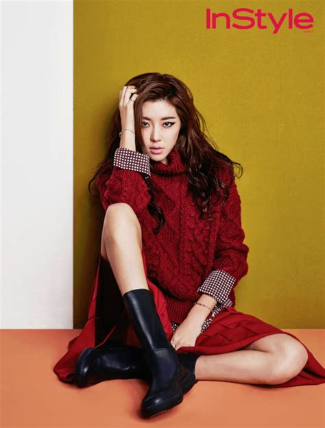 hot photoshoot hyuna a hq photobook daily korean park han byul has great versatility in the november issue