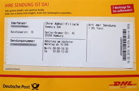 Deutsche Post Brief Beispiel Packstation Ohne Karte My