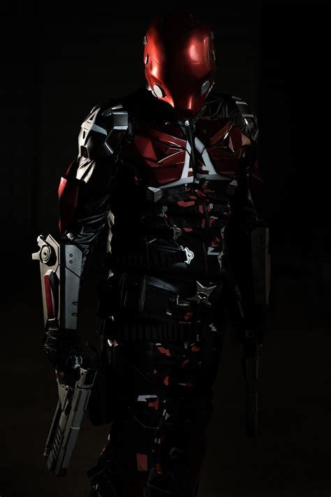arkham knight red hood batman