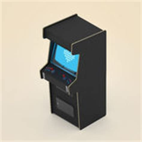 Arcade Cabinet Icon by Arcade Machine With Blank Screen Royalty Free Stock Photo