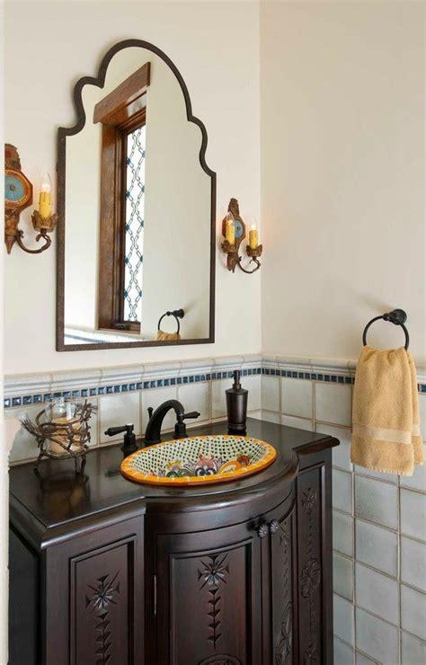 bathroom sink spanish best 25 spanish style bathrooms ideas only on pinterest