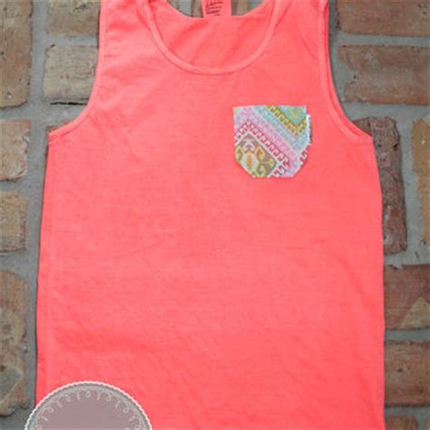 comfort colors neon red orange neon red orange comfort colors tank with from coast