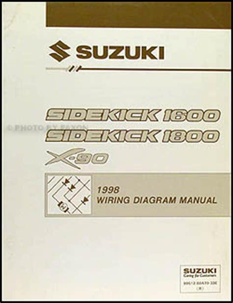 car service manuals pdf 1996 suzuki x 90 windshield wipe control 1998 suzuki sidekick 1600 and sport 1800 x 90 wiring diagram manual