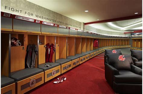 sports locker for room football complex washington state alsc architects
